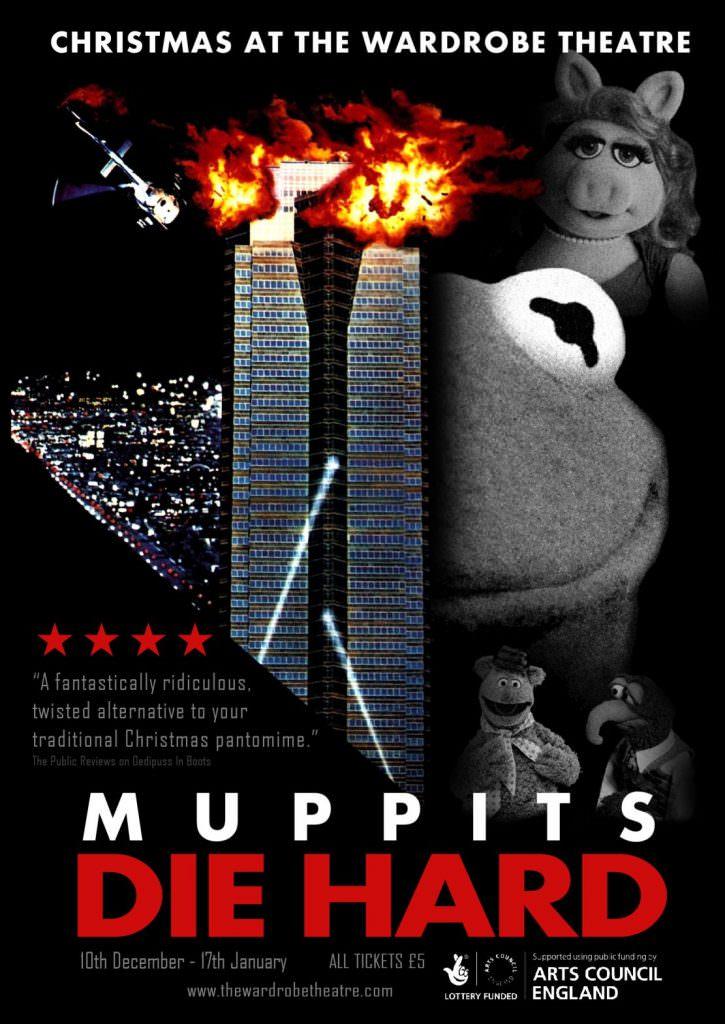 muppits die hard the wardrobe theatre